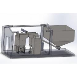 Модульная котельная Roteks 1х25 кВт