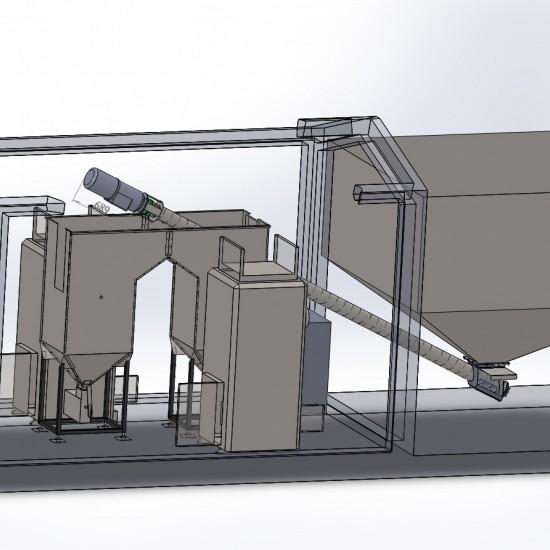 Модульная котельная Roteks 600 кВт