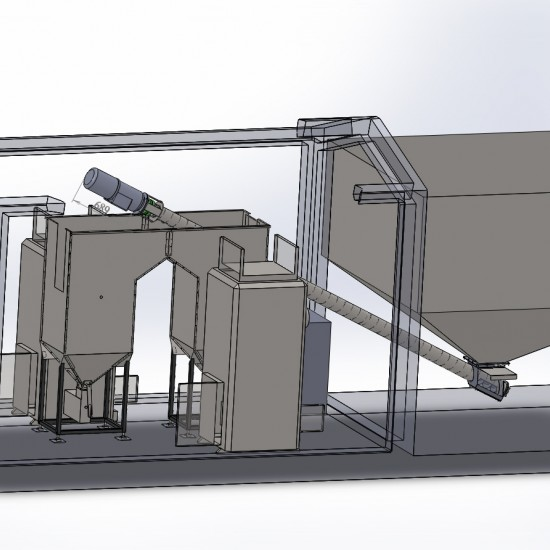 Модульная котельная Roteks 1х100 кВт